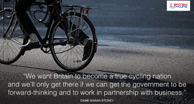 Give more tax breaks to people who take up cycling to work says British Cycling