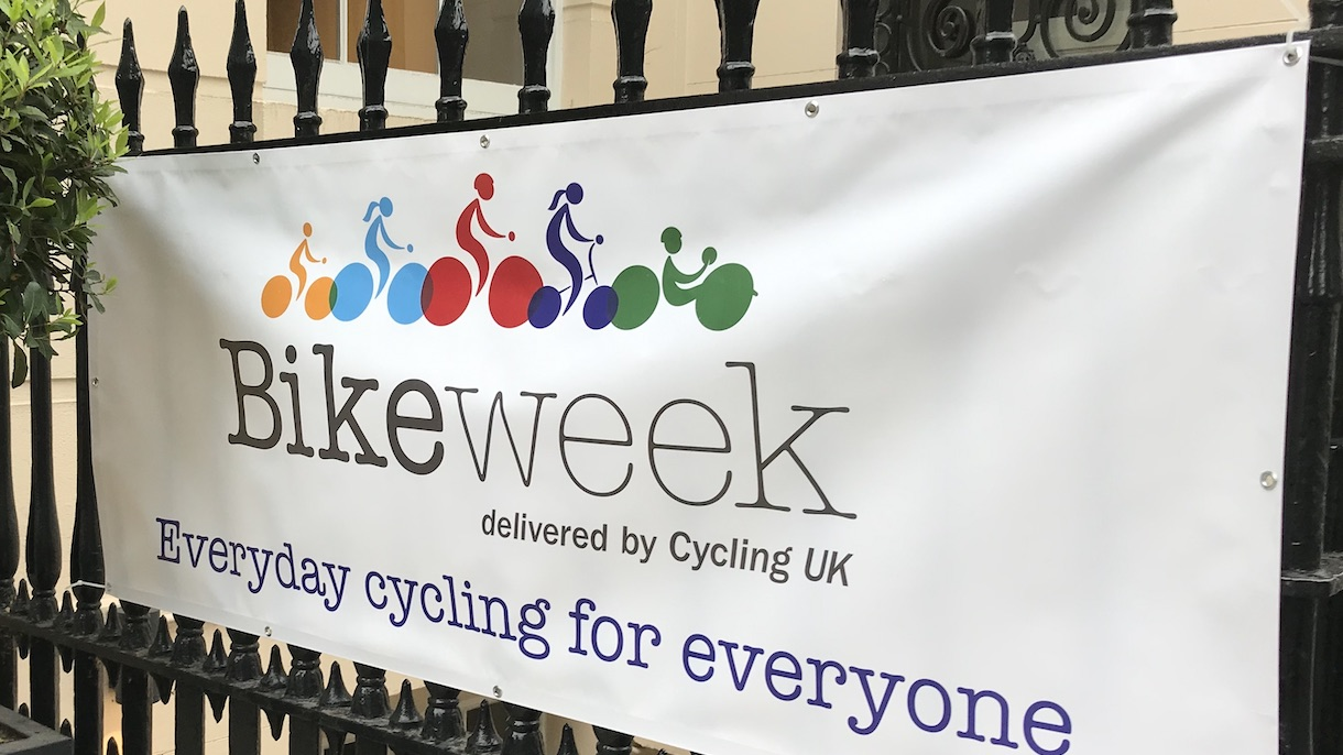Cyclescheme support Bike Week 2019