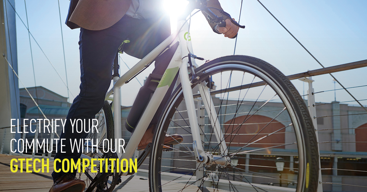 Win a Gtech Sport Electric Hybrid Bike in our latest competition