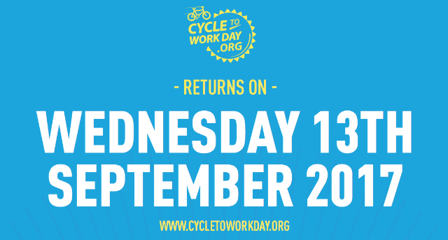 Get set…GO. Cycle to Work Day 2017