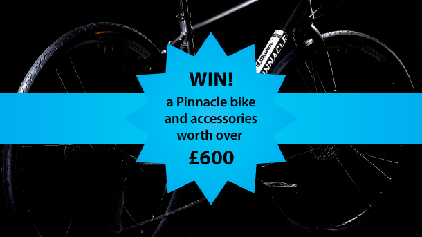 Win a Pinnacle Lithium Four Bike and kit worth over £600!