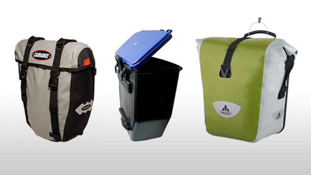 Round Up: Waterproof panniers