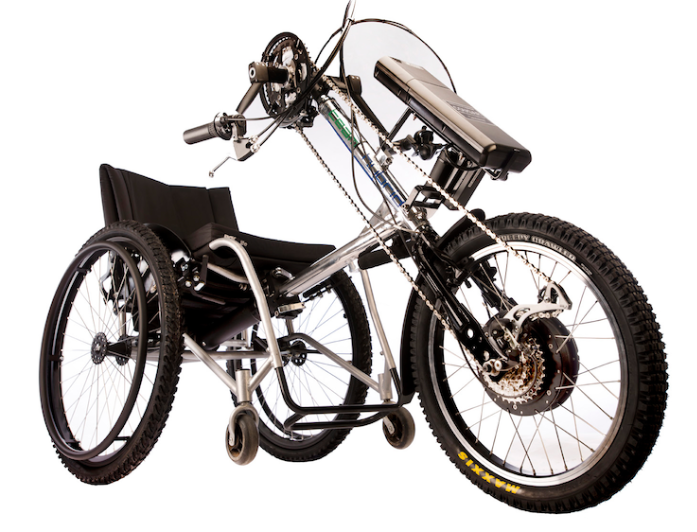 Paraplegic hand cycles