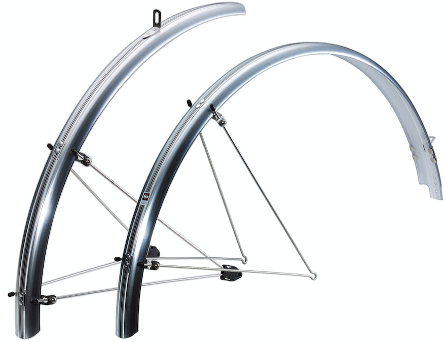 Full-length mudguards