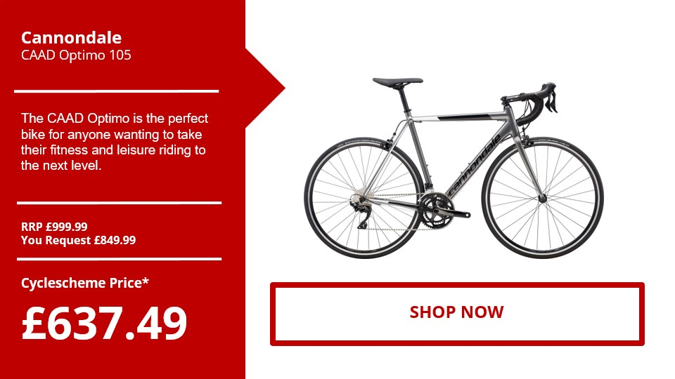 Cannondale​ CAAD Optimo 105