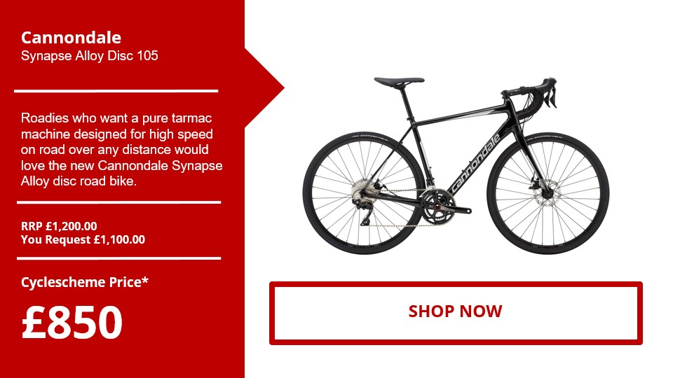 Cannondale​ Synapse Alloy Disc 105