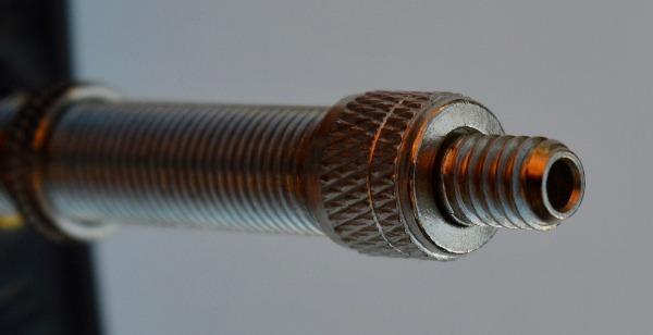 Wood tyre valve