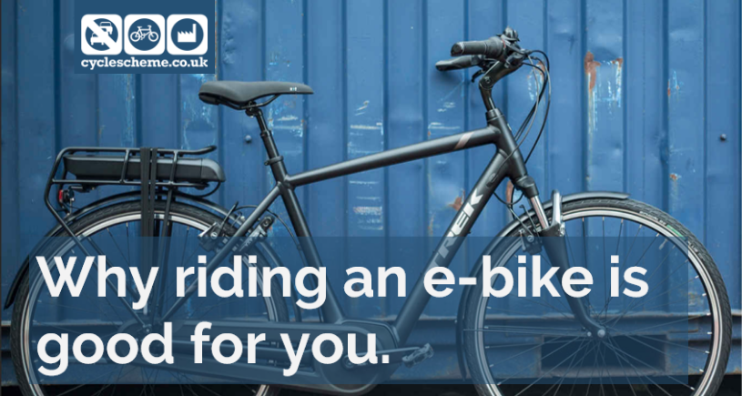 Why riding an e-bike is good for you