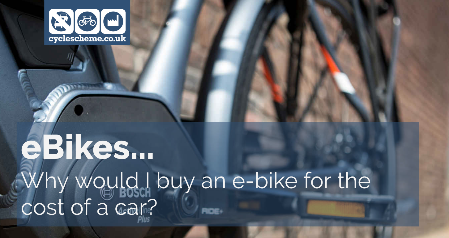Why would I buy an e-bike for the cost of a car?
