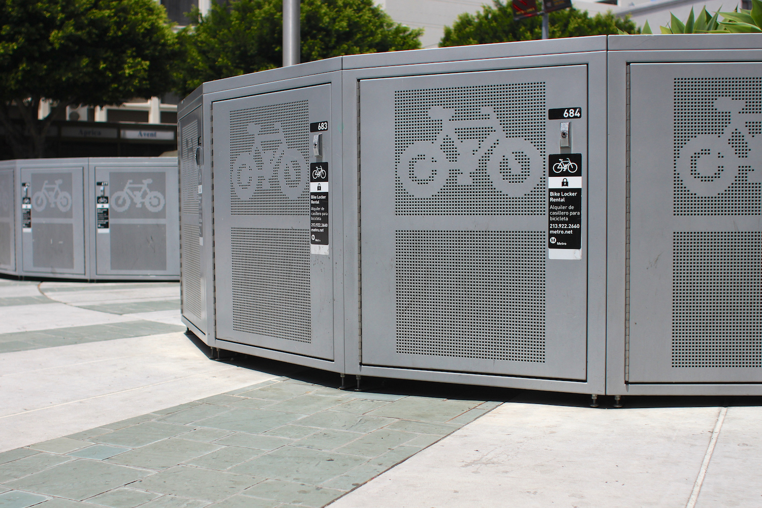 Bicycle Lockers
