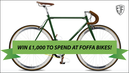 Win £1000 to spend at Foffa bikes!