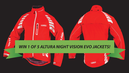 Win 1 of 5 Altura Night Vision Evo jackets!