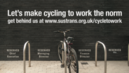 Cycling to work: a boost to our economy