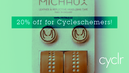 20% discount on Michaux handlebar tape