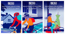 Motivate your staff to get on their bike, with these beautiful new posters