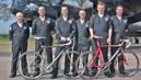 RAF Display teams coast to coast cycle challenge