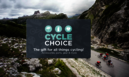 The ultimate gift for cycling enthusiasts. The Cycle Choice gift card!