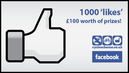 Like us on Facebook and win £100 worth of prizes!