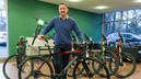 Chris Boardman, MBE gets in the saddle for Cycle to Work Day on 14th September