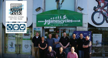 Cycle Awards: English Store of The Year, JE James
