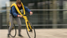 Fliz concept bike, an adult sized strider bike