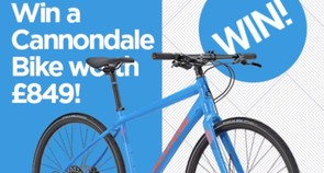 Win a Cannondale Quick 2 Hybrid Bike