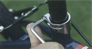 7. Saddle and seat post