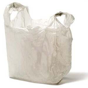Two plastic bags