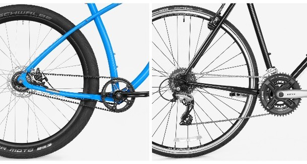 Round Up: Chain drive vs. belt drive