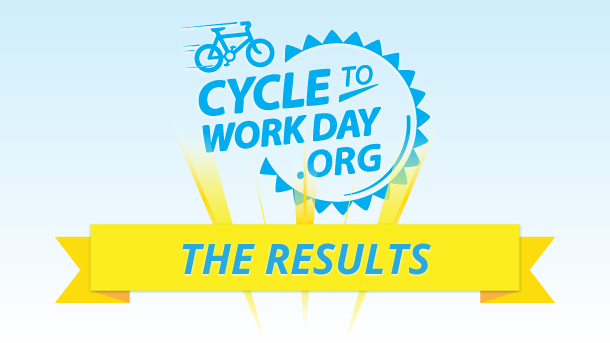 Cycle to Work Day - the result!