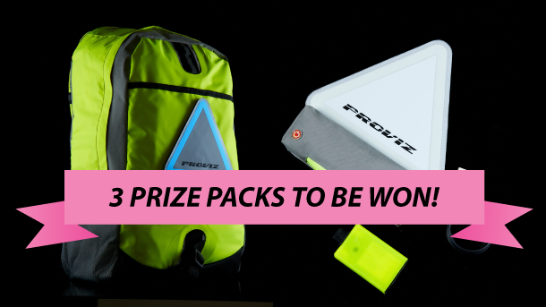 Win one of three Proviz rucksack and light combos!