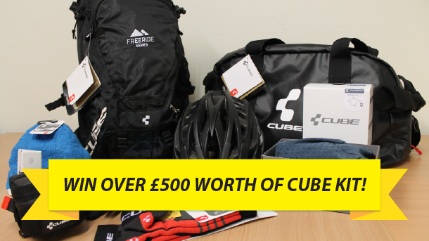 Win over £500 worth of kit from Cube!