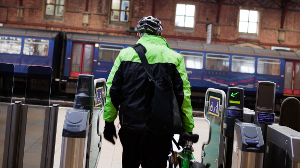 Taking Your Bike On a Train
