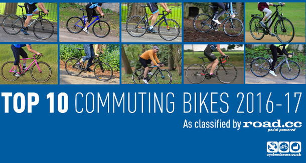 Get any of The Top 10 commuting bikes of the year through Cyclescheme