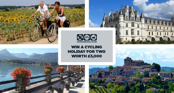 CycleScheme: Win a cycling holiday for 2