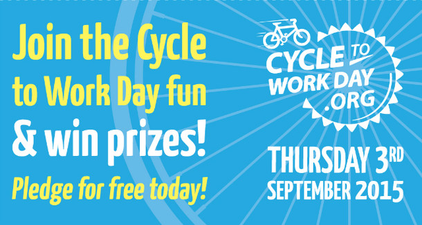 Spread the word on Cycle to Work Day 2015