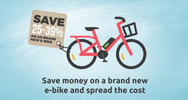 Did you know e-bikes are available on cyclescheme? Cyclescheme.