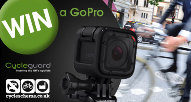 Win a GoPro with Cycleguard