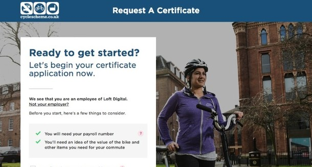 How to: Track your Cyclescheme certificate